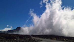 Swirling cloud, Tenerife